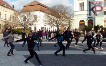 Flashmob a Kossut téren