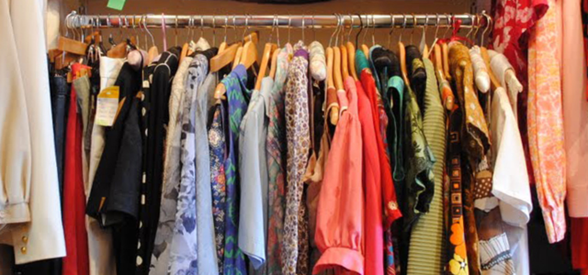 Charity shop online clothes
